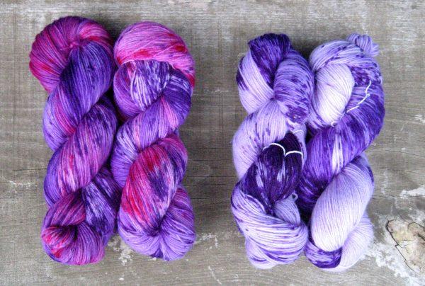 garnyarn-haandfarvet-garn-tynd-merinould-nylon-superwash-stroempegarn