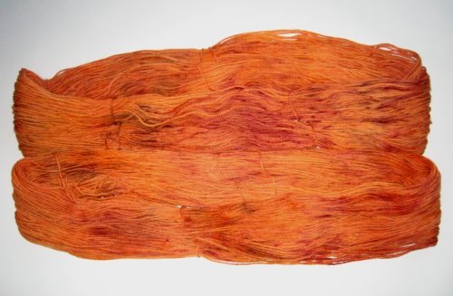 garnyarn-haandfarvet-garn-mellem-merinould-nylon-superwash-stroempegarn-orange-brun-bordeaux