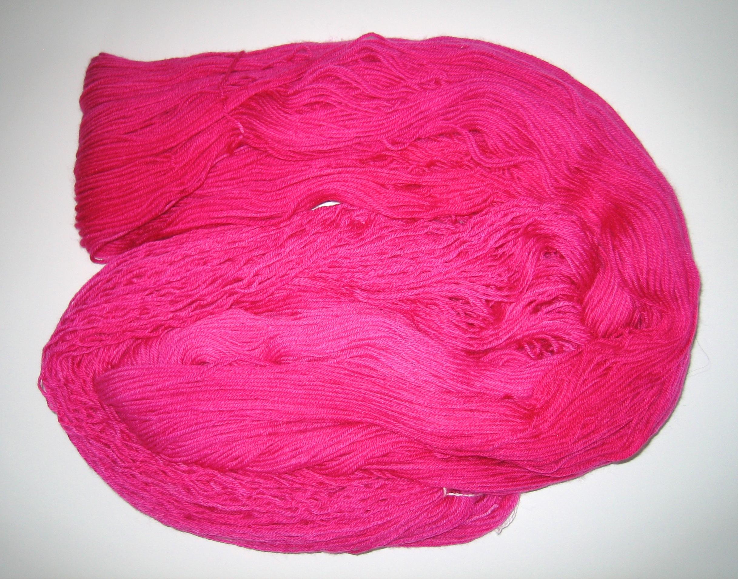 garnyarn-håndfarvet-garn-tynd-merino-nylon-heritage-pink