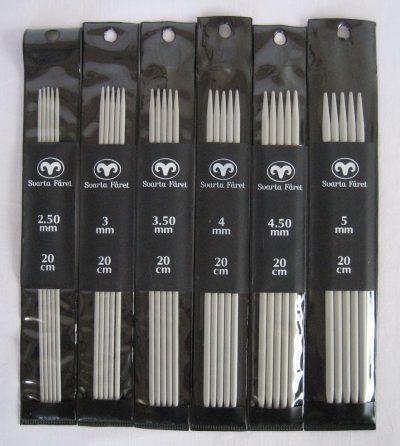 svartafaaret-aluminium-strømpepinde-20cm